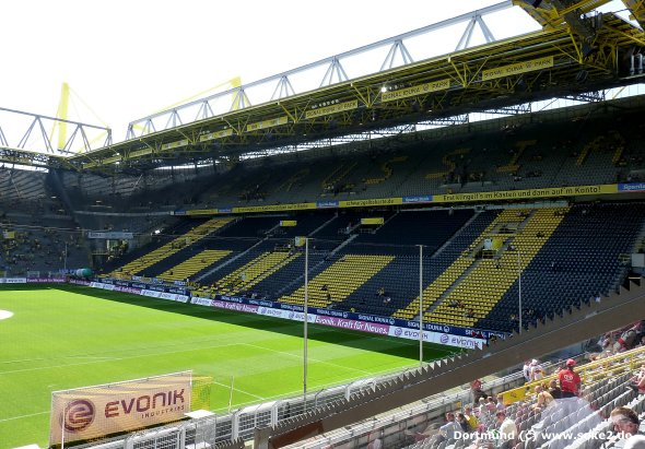 dortmund westfalenstadion. Black Bedroom Furniture Sets. Home Design Ideas