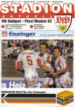 vfb-museum_910918_Heft_vfb_Pecsi-Munkas-SC(UEFA)