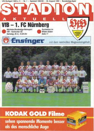 vfb-museum_920822_Heft_vfb_nuernberg