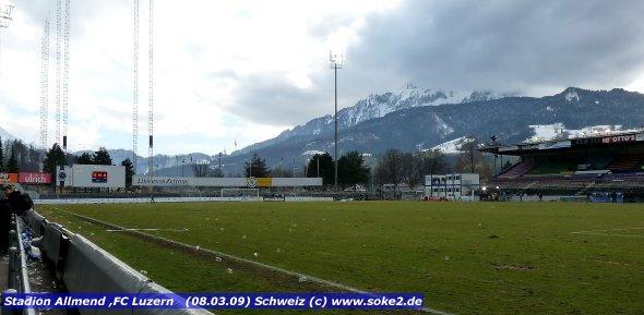Luzern – Stadion Allmend   www.soke2.de
