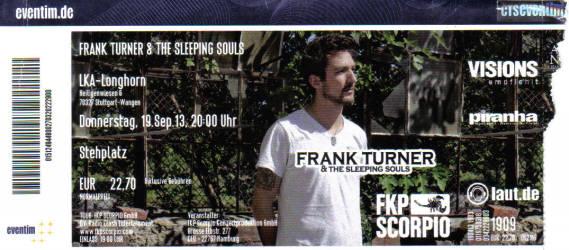 130919_Tix_Frank-Turner_LKA,Stuttgart