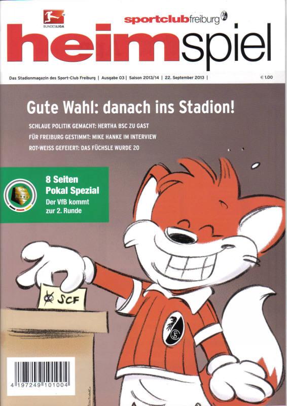 130925_Heft_freiburg_vfb(DFB-Pokal)