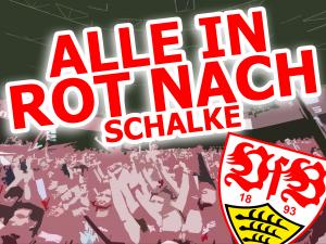 Alle in Rot nach Schalke 1