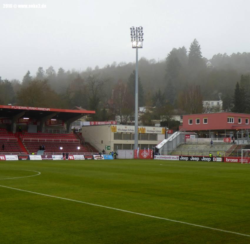 Würzburger Kickers Stadion Neubau