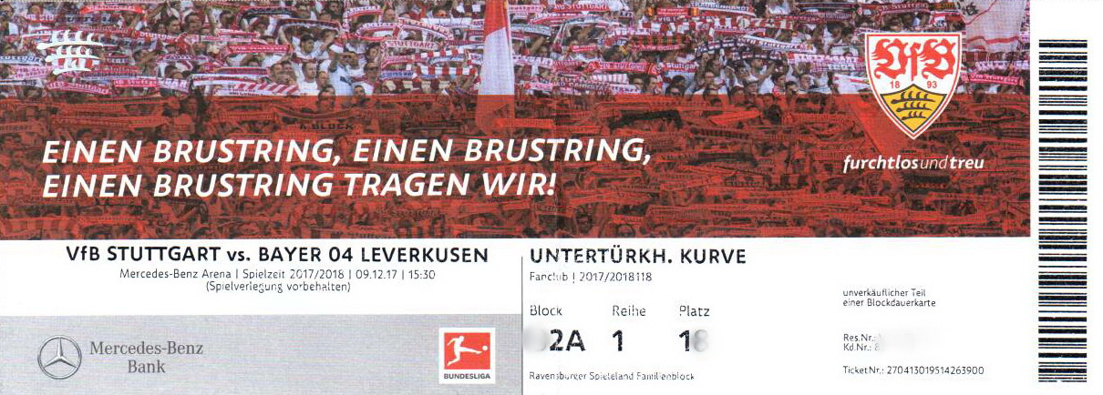 Vfb Tickets