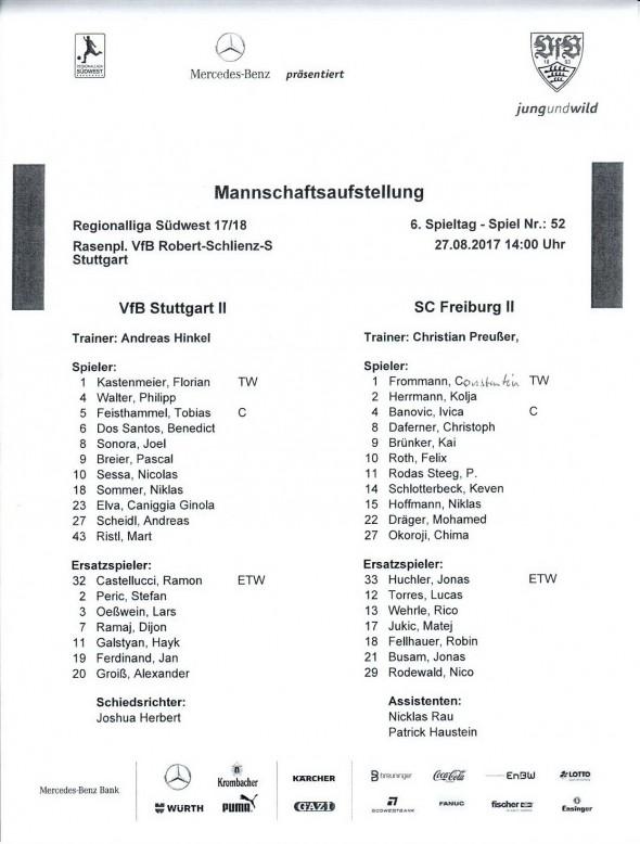170827_aufstellung_vfbII_freiburgII_Regionalliga_17-18_soke2