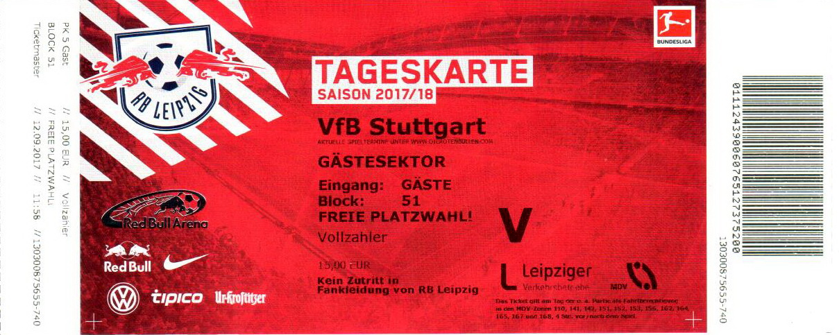 Rb Leipzig Vip Tickets