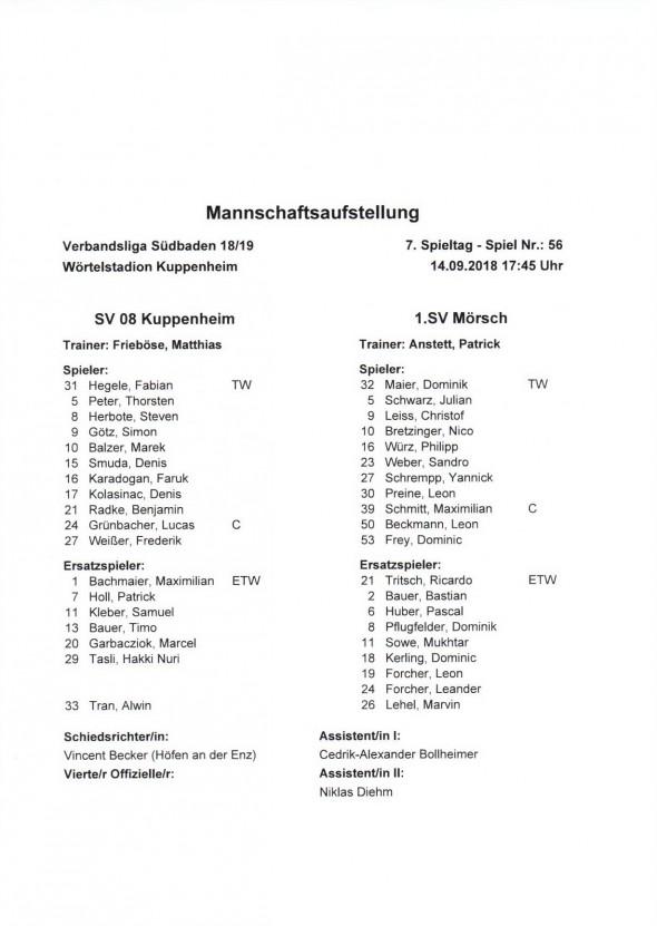 180914_Aufstellung_Kuppenheim_Moersch
