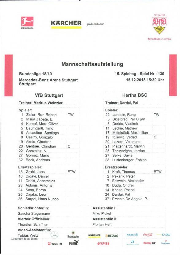 181215_Aufstellung_VfB_Hertha