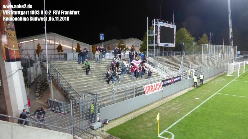VfB Stuttgart 1893 II Vs FSV Frankfurt (2018/2019)