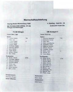190824_Auftsellung_Villingen_VfB_Stuttgart_U21