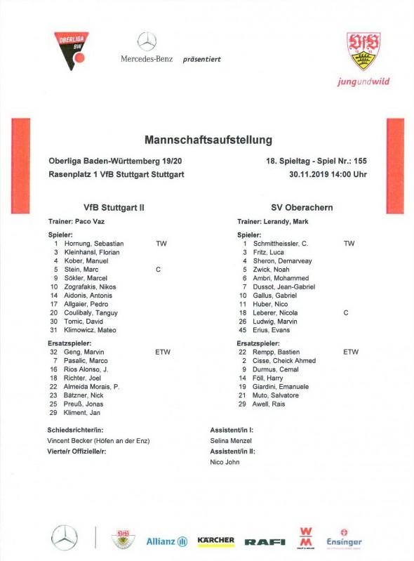 191130_Auftsellung_VfB2_Oberachern