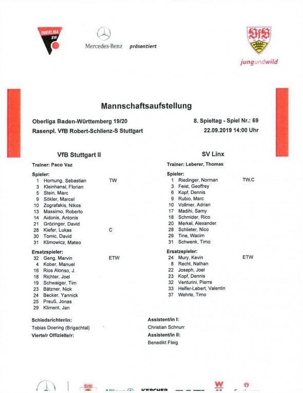 190922_Aufstellung_VfB_Stuttgart_U21_SV_Linx_Soke2