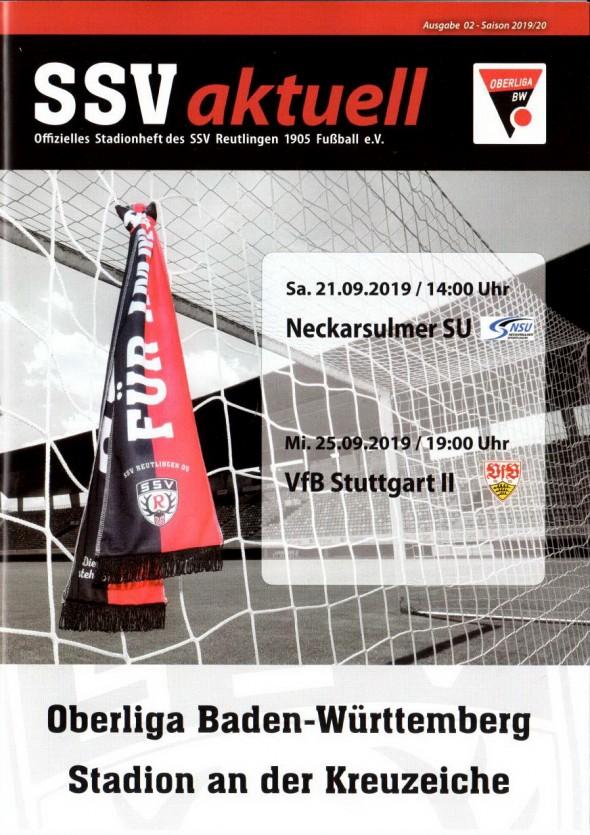 190925_Heft_SSV_Reutlingen_VfB_Stuttgart_U21