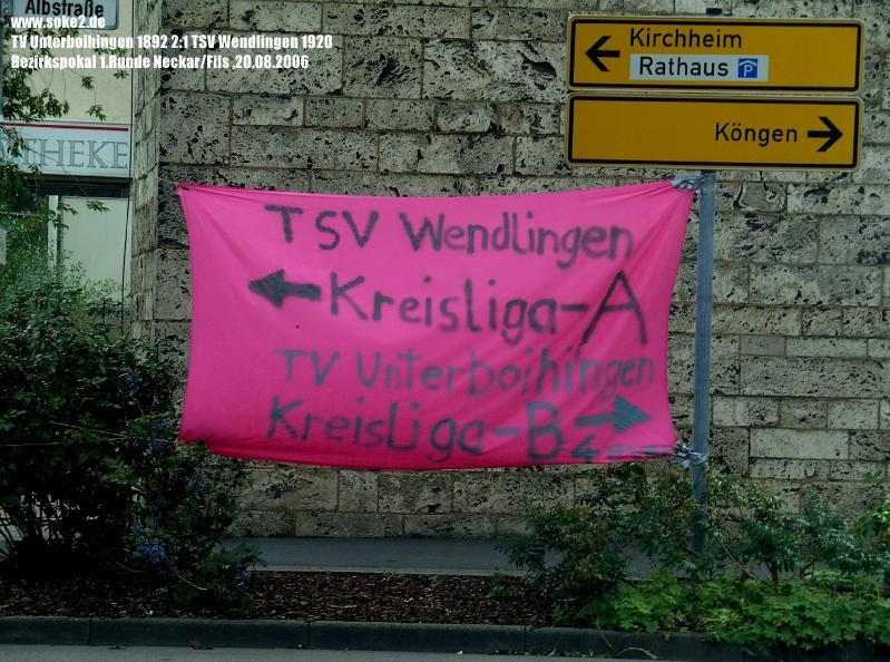 060821_TV_Unterboihingen_TSV_Wendlingen_BZ-Pokal_Neckar-Fils_Wendlingen