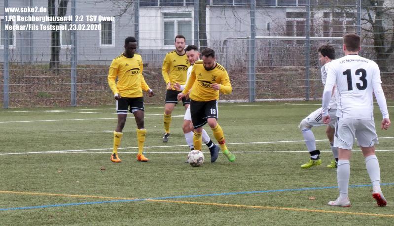 Soke2_200223_1.FC_Rechberghausen_II_TSV_Owen_Testspiel_P1240411