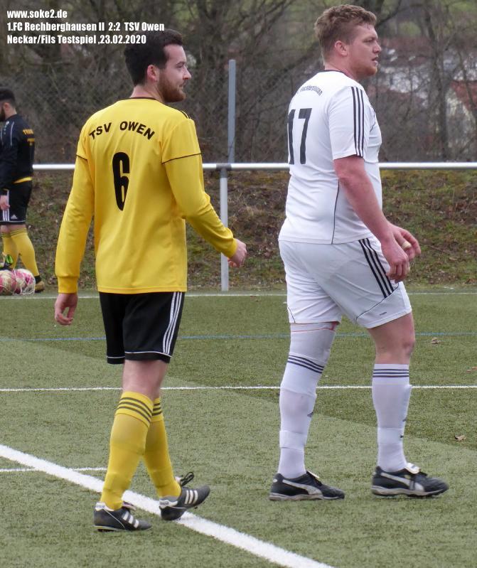 Soke2_200223_1.FC_Rechberghausen_II_TSV_Owen_Testspiel_P1240420