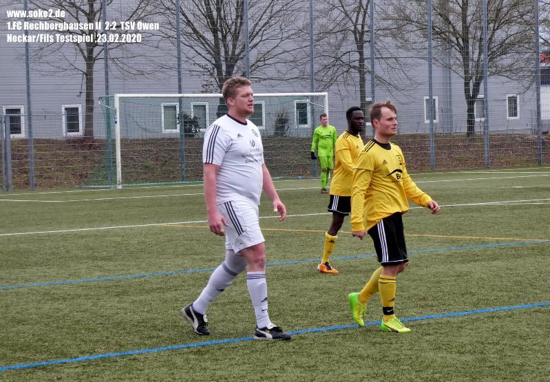 Soke2_200223_1.FC_Rechberghausen_II_TSV_Owen_Testspiel_P1240431