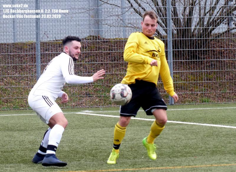 Soke2_200223_1.FC_Rechberghausen_II_TSV_Owen_Testspiel_P1240432