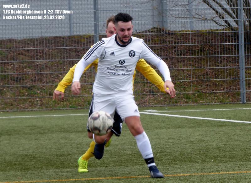 Soke2_200223_1.FC_Rechberghausen_II_TSV_Owen_Testspiel_P1240434