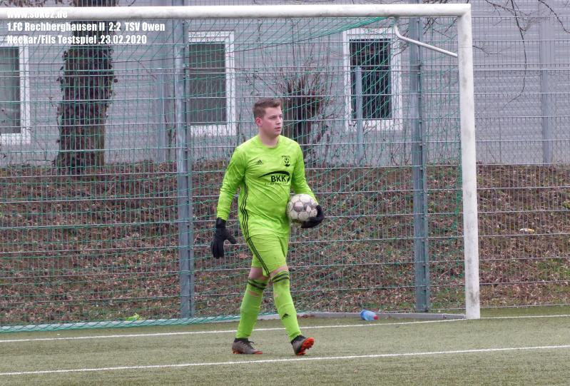 Soke2_200223_1.FC_Rechberghausen_II_TSV_Owen_Testspiel_P1240435