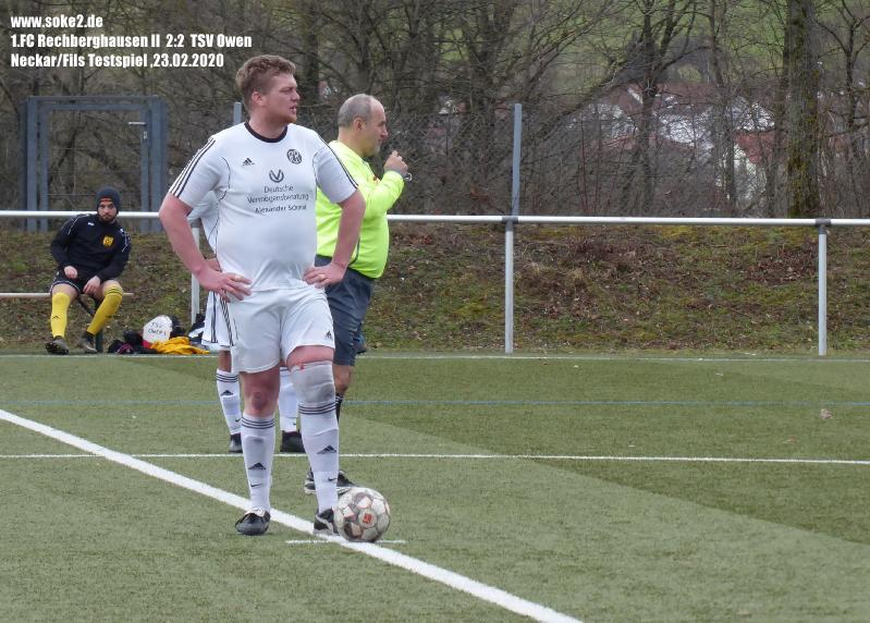 Soke2_200223_1.FC_Rechberghausen_II_TSV_Owen_Testspiel_P1240437