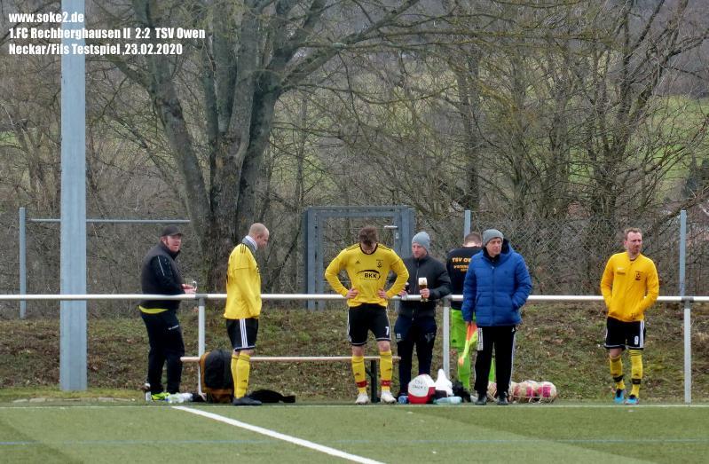 Soke2_200223_1.FC_Rechberghausen_II_TSV_Owen_Testspiel_P1240455