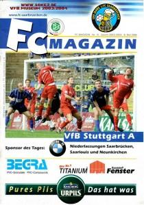 040508_Heft_1.FC_Saarbrücken_VfB_Stuttgart_Amateure