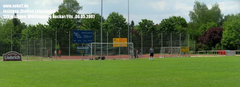 Ground_Soke2_070506_Jesingen_Stadion_Lehenäcker_Neckar-Fils_Lehenäcker