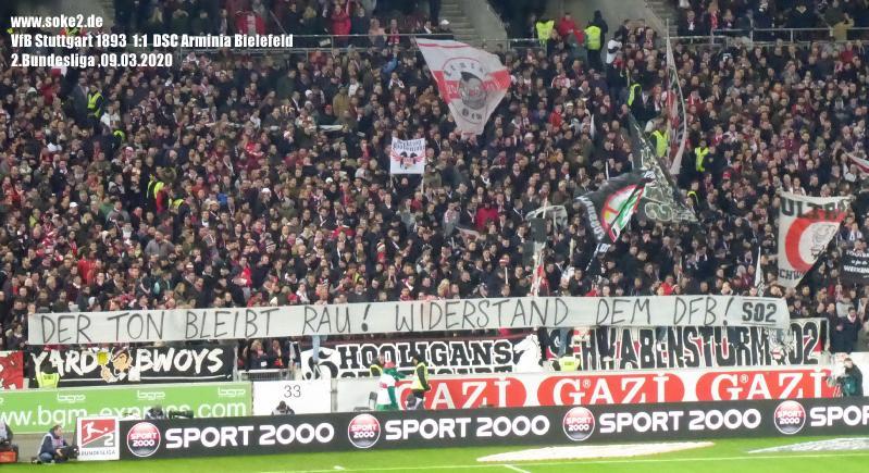 soke2_200309_VfB_Stuttgart_Arminia_Bielefeld_2Bundesliga_P1250150